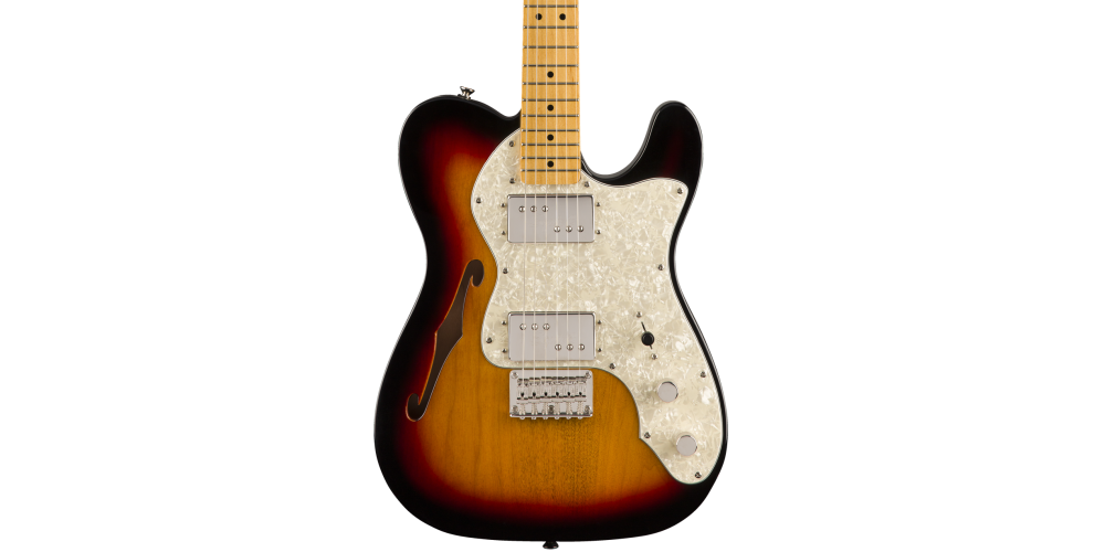fender classic vibe 70s telecaster thinline maple fingerboard 3 csbst