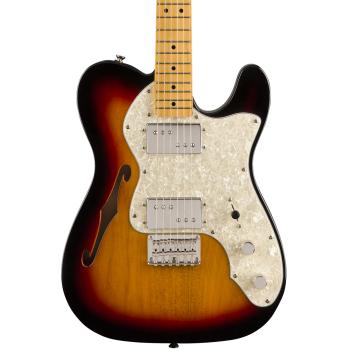 Fender Classic Vibe 70s Telecaster Thinline Maple Fingerboard 3-Color Sunburst