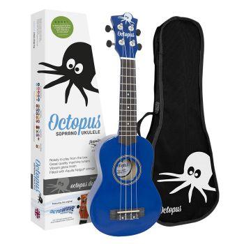Octopus UK 200 DB Ukelele Soprano Azul Marino