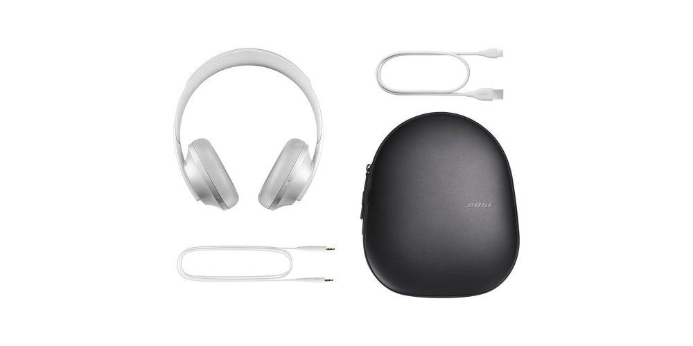 bose headphones 700 silver cancelador ruido plateado headphones700 plateado usb funda accesorios