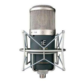 sE Electronics Micrófono de condensador gran diafragma Gemini II