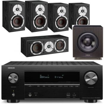 DENON AVR-X2600+Dali Spektor 2 Cinema Pack 5.0 Black+SX120 BK