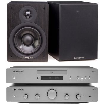CAMBRIDGE AXA25+AXC25+SX50-BK Conjunto audio