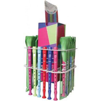 Hohner 95084-36C 36 Flautas colores Con Expositor