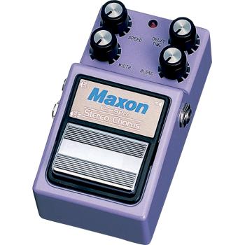 Maxon CS-9 Stereo Chorus Pro Pedal Efectos Guitarra