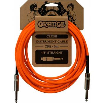Orange Crush 6M Instr Straight-Straight Cable de instrumento 6 Metros