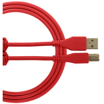 Udg U95001RD Ultimate Cable USB 2.0 A-B Red 1 Metro