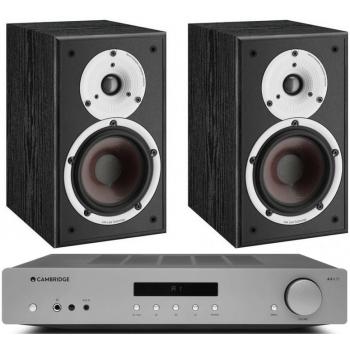 Cambridge Audio AXA35+Dali Spektor 1 Black Conjunto audio