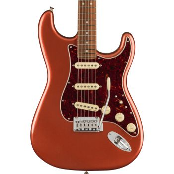 Fender Player Plus Stratocaster PF Aged Candy Apple Red. Guitarra Eléctrica