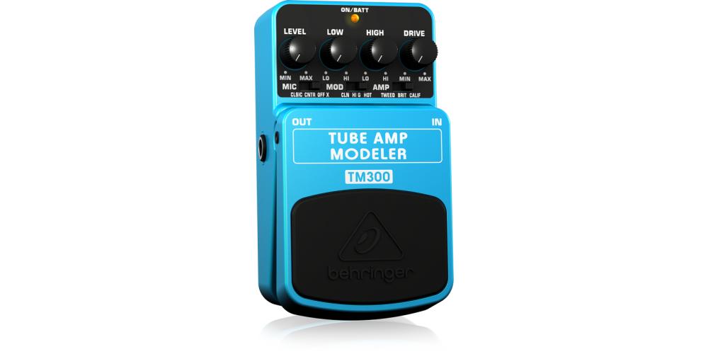 behringer TM300 pedal tube amp