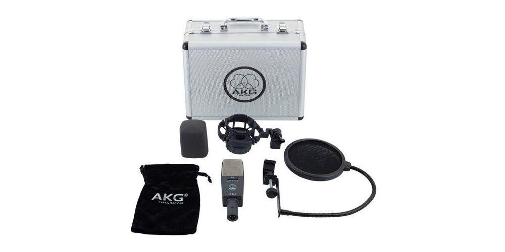AKG C-414 XLS /ST Microfono Estudio  Kit 2 Micros + Maleta aluminio