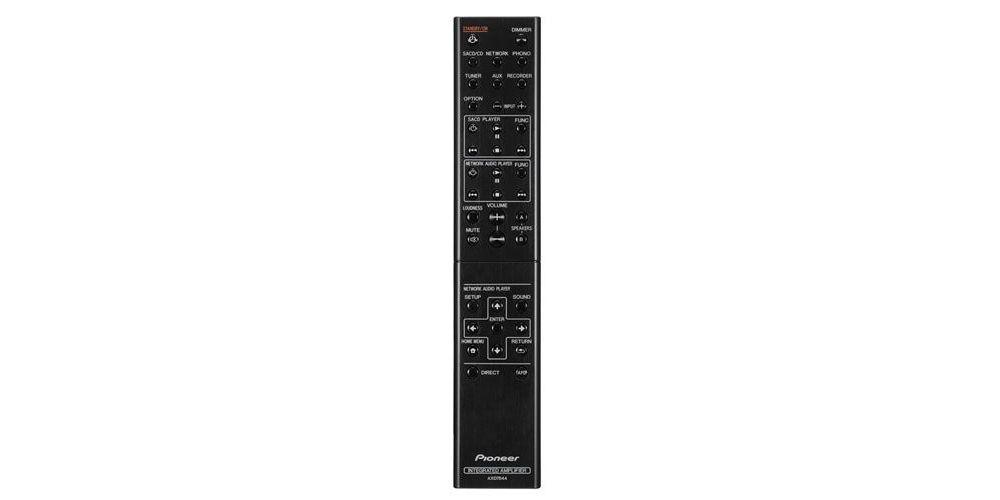 pioneer a 30 remote mando distancia silver