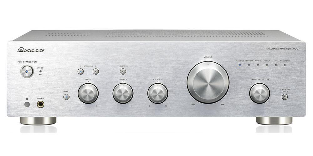 pioneer a 30 silver amplificador hifi estereo
