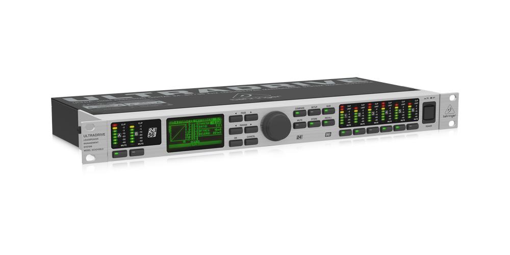 behringer DCX2496LE interface