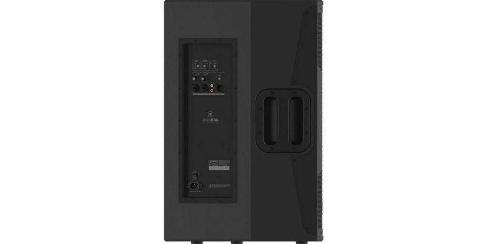 mackie srm650 altavoz amplificado panel conexiones