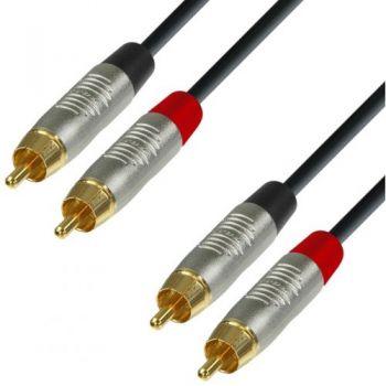 ADAM HALL Cable REAN 2 Rca Macho a 2 Rca Macho 3m RF:18