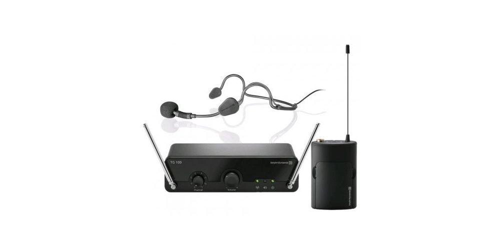 BEYERDYNAMIC TG 100 Set de Diadema Microfono inalambrico