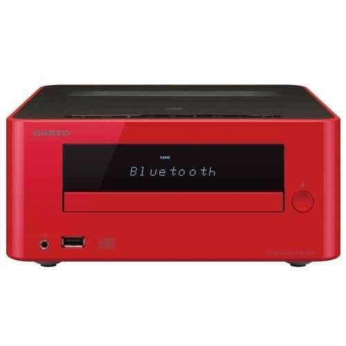 ONKYO CS-265 R Micro Cadena Bluetooth, Rojo