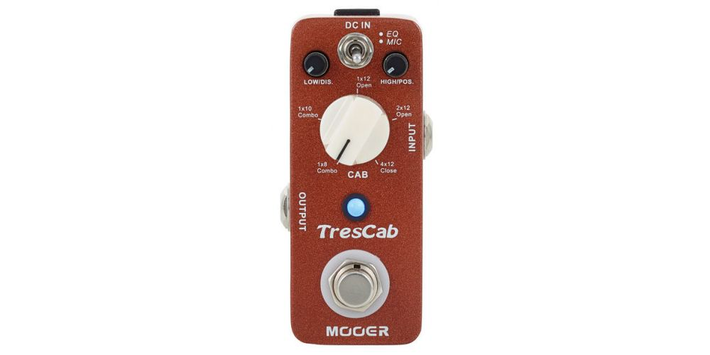 Mooer TresCab Pedal