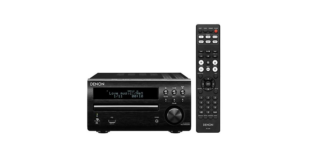 DENON RCDM-40 Black  Receptor, CD