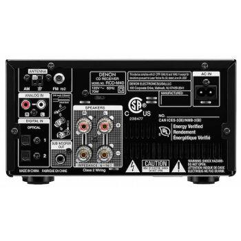 DENON RCDM-40 Black  Receptor, CD