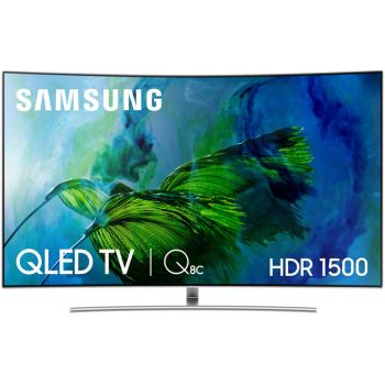 "SAMSUNG TV QE65Q8C QLED 65"" Curvo Smart Tv"