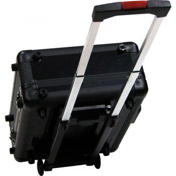 Walkasse WMC-ALS5 Flight case aluminio universal M Ruedas y trolley