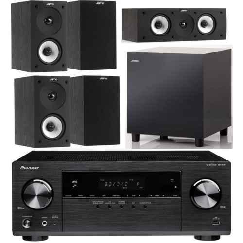pioneer.vsx531 jamo s622 hcs black set sub 210 bk