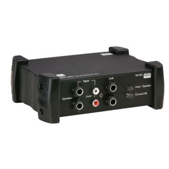DAP Audio SDI-202 Caja de Inyección Activa Estéreo