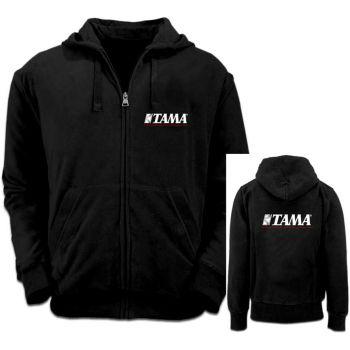 Tama sudadera con capucha Negra/Roja Talla M