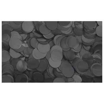 Showtec Show Confetti Round Black 1Kg Negro 60912B
