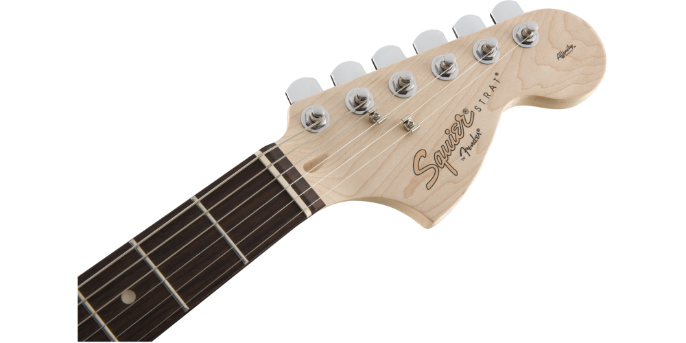 Fender Squier Affinity Stratocaster LRL HSS Slick Silver mastil