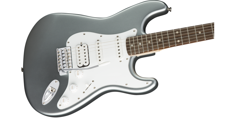 Fender Squier Affinity Stratocaster LRL HSS Slick Silver pastilla
