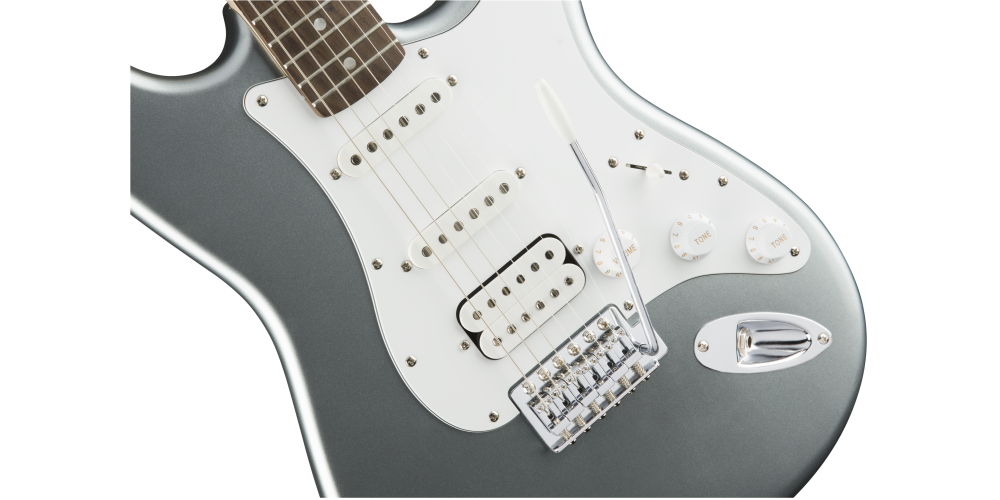Fender Squier Affinity Stratocaster LRL HSS Slick Silver tremolo