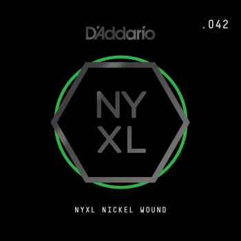 D´addario NYNW042 Cuerda Suelta para Guitarra Eléctrica