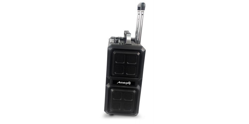 audibax port10vhf black lateral