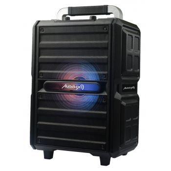 Audibax Combo PORT10-VHF Altavoz Trolley Bluetooth con Batería Recargable + Micrófono inalambrico 150W