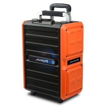 Audibax Combo PORT10-VHF Altavoz Trolley Bluetooth con Batería Recargable + Micrófono inalambrico 150W ( REACONDICIONADO )