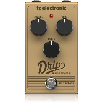 Tc electronic DRIP SPRING REVERB, Pedal Efectos