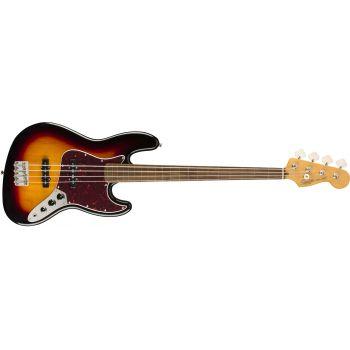 Fender Classic Vibe 60s Jazz Bass Fretless Laurel Fingerboard 3-Color Sunburst