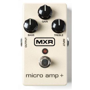 MXR M-233 Micro Amp+ Booster Pedal