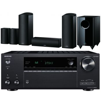 ONKYO TX-NR686 Black+ONKYO SKS-HT588 Conjunto Dolby Atmos