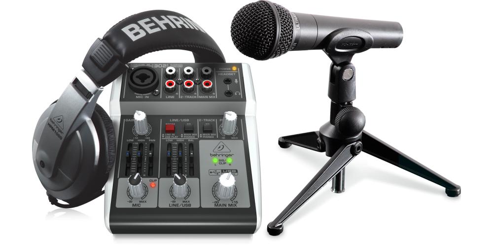 behringer podcastudio 2 usb compra