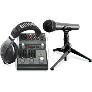 Behringer Podcastudio 2 Usb Estudio De Grabación Completo