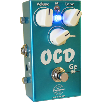 Fulltone OCD Germanium Pedal Efectos Guitarra Overdrive