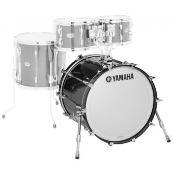 Yamaha Recording Custom Solid Black Bombo 20x16 RBB2016SOB
