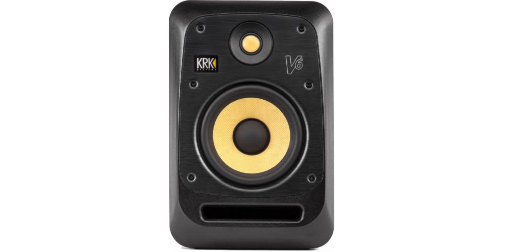 KRK V6S4 Monitor Amplificado Bi Amplificado. Negro