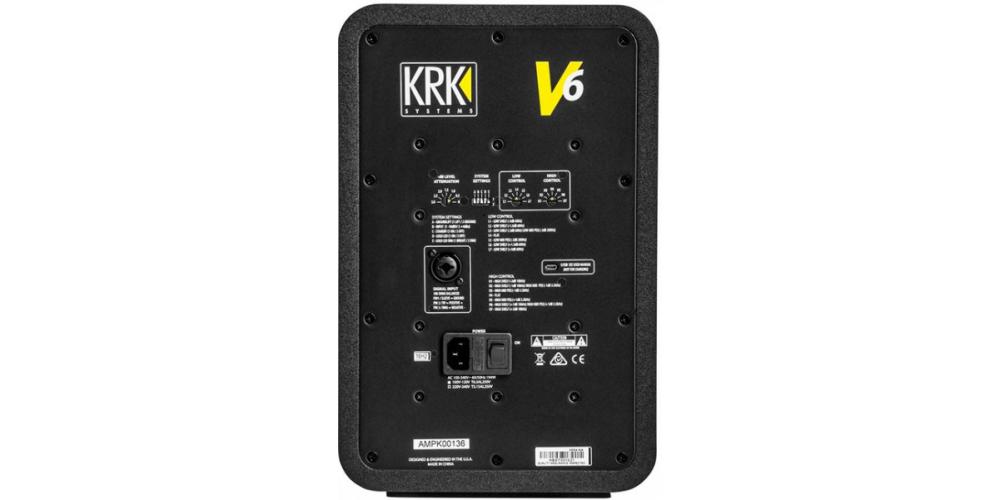 KRK V6S4 Monitor Amplificado Bi Amplificado