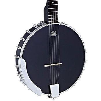 Ortega OBJ250-SBK Banjo Black Satin