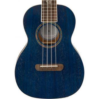 Fender Dhani Harrison Ukelele WN Sapphire Blue